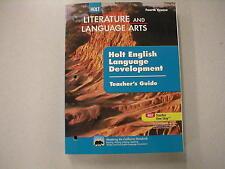Holt Literature and Language Arts Fourth Course Workbook Teacher's Gd 0554011530