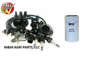 COMPLETE IGNITION TUNE UP & FILTER 3 CYLlNDER GAS FORD 2000 3000 4000 + TRACTOR