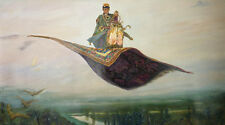 HANG PAINTED REALISTIC OIL PAINTING, THE MAGIC CARPET