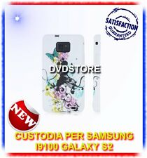 Pellicola+Custodia MA/NERA per Samsung I9100 galaxy s2 plus I9105