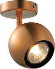 SLV LIGHT EYE 1 Wand- und Deckenleuchte, QPAR51, kupfer, max. 50W