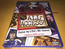 NHL ALL ACCESS dvd BILL CLEMENT (ESPN) wayne gretsky patrick roy mario lemieux