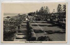 (Ga9340-477) Real Photo of Marine Parade, Napier, NZ 1953 G-VG
