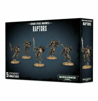 Games Workshop Warhammer 40K Chaos Space Marine Raptors Boxed Set