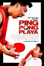 PING PONG PLAYA Movie POSTER 27x40 Jimmy Tsai Roger Fan Shelley Malil