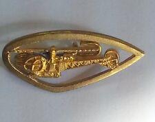 """Insigne militaire armée de l'air OR """" Hélicoptère Alouette II """" - Date 1956"""