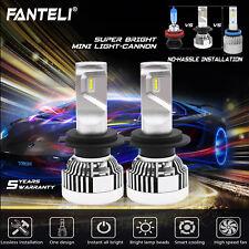 Mini CREE CSP LED Headlight Kit H7 White Power 6000K 2000W 300000LM Car Low Beam