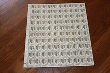 Stamp Sheet USA General Elections Ballot Box Stamps. Full Sheet of 100 x 3 cents
