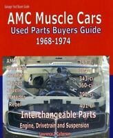 Amc Parts Interchange Manual 1970 1971 1972 1973 1974 Gremlin Hornet Matador