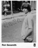 RON SEXSMITH AUTOGRAPH, CANADIAN POP MUSIC