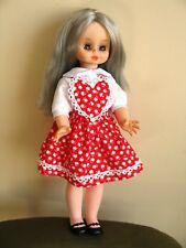 Bambola fashion MATTEL bionda vintage alta moda anni '60 '70 Made in Italy doll
