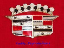 1952 - 1953 Cadillac Trunk Crest Emblem Ornament 52 53