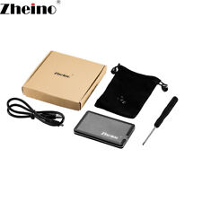 Zheino 1.8 Inch HDD/SSD External Enclosure Case For 40pin ZIF/CE 5mm 8mm USB2.0