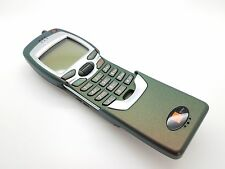 (Orange Network) Superb Condition Retro Nokia 7110 Mobile Phone (Dark Green)
