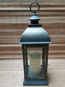 ELAMBIA Longlife Outdoor-Laterne inkl. LED-Kerze Höhe je ca. 40cm