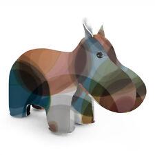 NEW Zuny Classic Hippo Kaleidoscope Bubble - Brown/Blue > Classic