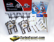 Pinto Twin Repro Weber 45DCOE carbs & Manifold kit 45 DCOE carbys Escort Cortina