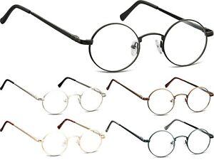 John Lennon Style Montana runde Brille Edelstahl Damen Herren Doktorbrille