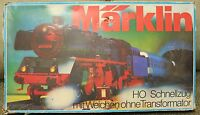 Marklin H0 HO Scale Passenger Train Set 3185 In Box Vintage 1970s West Germany