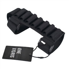 OneTigris Tactical Hunting 7 Round Shotgun Shell Ammo Carrier Holder Gun Butt