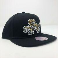 New Mitchell & Ness Toronto Raptors NBA Dino Black Gold Adjustable Snapback Cap