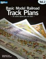 Starter Track Plans for Model Railroaders, Paperback by Kalmbach Books (COM),...