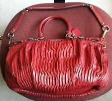 AUTHENTIC COACH MADISON GATHERED LEATHER SOPHIA SATCHEL BAG PURSE 18620 RED $498