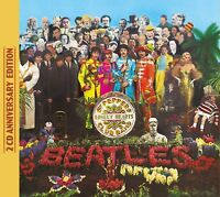 THE BEATLES - SGT.PEPPER'S LONELY HEARTS CLUB BAND (DELUXE ANNIVERSARY) 2CD NEW