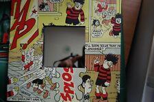 Beano Wall Mirror Vintage Denis the menace Comic Retro Home Decor