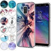 Handy Hülle Samsung Galaxy J6 2018 Schutz Hülle Silikon Tasche Cover Handyhülle