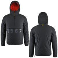 Kappa 1967 CAMDEN giacca uomo con cappuccio imbottitura piuma apertura mezza zip