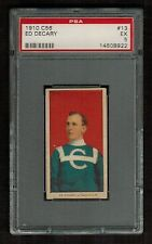 PSA 5 ED DECARY 1910 C56 Hockey Card #13 ROOKIE