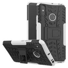 For Xiaomi Redmi Note 6 pro Hybrid Case 2 Pieces Outdoor White Case Cover