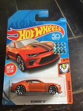 Hot Wheels 50th Anniversary Muscle Mania: '18 Camaro Ss (8/10)