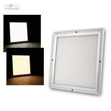 LED Panel 30x30cm, kaltweiß warmweiß mit Fernbedienung wechseln und dimmbar