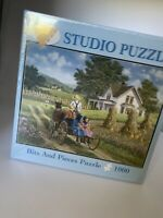 Bits And Pieces 1000 piece jigsaw Puzzle Studio Puzzle New Sealed