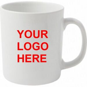 50 Bulk Buy Promotional,Personalised,Business Printed Mug/cup Anytext,logo,image