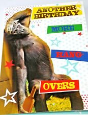 Happy Birthday Card. Monkey Theme. Party Animal Range from Heartstring Cards.