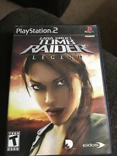Tomb Raider Legend PlayStation 2 Ps2 Complete W/ Manual Tested!
