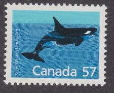Canada 1988 #1173 Mammal Definitives - Killer Whale - Mnh - Value $1.50
