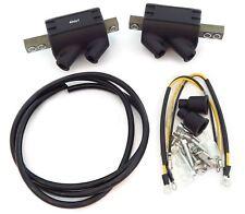 Set of 2 Magna High Output Coils with Wire - 5 ohms - Suzuki GS550/550L GS1000EC