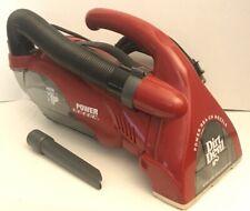 Royal Dirt Devil 08245 HEPA Power Reach Handheld Vacuum w/ Hose & Crevice Tool