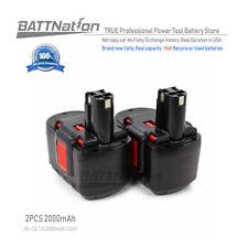 2x 24V 2.0AH Ni-Mh Battery for Bosch 11524 12524 13624 24 Volt Drill Power Tool
