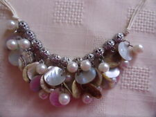 Pearl Mixed Metals Costume Necklaces & Pendants