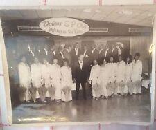 Dunbar Social & Pleasure Club Black & White Photo 1960s New Orleans