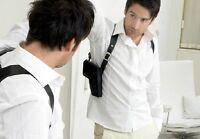 KOFFSKI No. 2 Shoulder Holster Bag  Set - BLACK