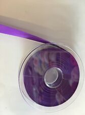 5m of 15mm Violet Double Faced Satin Premium Quality Ribbon Hair Bows/Cakes