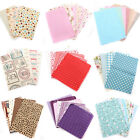 10 Series Mixed Printing Cotton Linen Fabric Quilting Handmade DIY Cloth Sewing