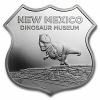 1 oz Silver - Icons of Route 66 (New Mexico Dinosaur Museum) - SKU#167820