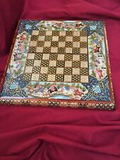 Backgammon and chess board khatam / miniature luxury, Persian, Handmade